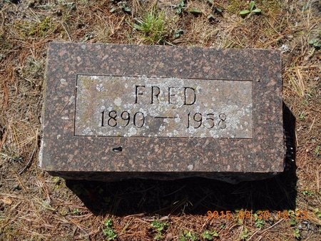 ROBERTS, FRED - Marquette County, Michigan | FRED ROBERTS - Michigan Gravestone Photos