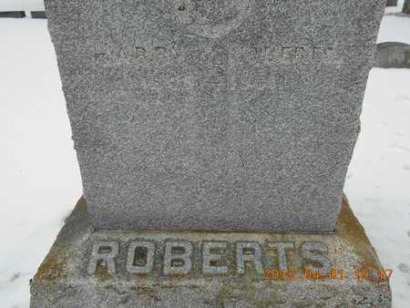 ROBERTS, HARRY - Marquette County, Michigan | HARRY ROBERTS - Michigan Gravestone Photos