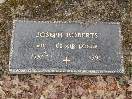 ROBERTS, JOSEPH - Marquette County, Michigan | JOSEPH ROBERTS - Michigan Gravestone Photos