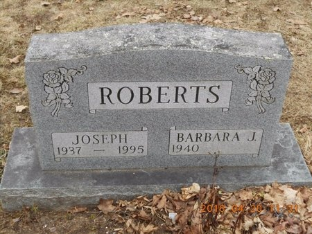 ROBERTS, BARBARA J. - Marquette County, Michigan | BARBARA J. ROBERTS - Michigan Gravestone Photos