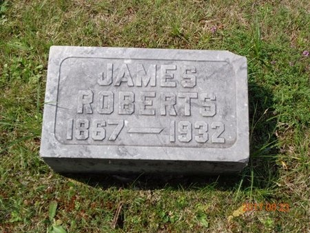 ROBERTS, JAMES - Marquette County, Michigan | JAMES ROBERTS - Michigan Gravestone Photos
