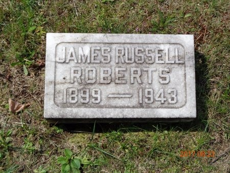 ROBERTS, JAMES RUSSELL - Marquette County, Michigan | JAMES RUSSELL ROBERTS - Michigan Gravestone Photos