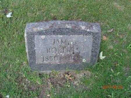 ROBERTS, JAMES - Marquette County, Michigan   JAMES ROBERTS - Michigan Gravestone Photos