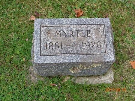 ROBERTS, MYRTLE - Marquette County, Michigan | MYRTLE ROBERTS - Michigan Gravestone Photos