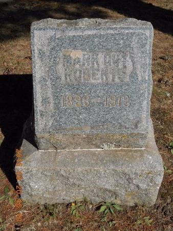 ROBERTS, MARK GUY - Marquette County, Michigan   MARK GUY ROBERTS - Michigan Gravestone Photos