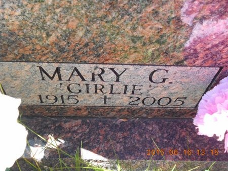 ROBERTS, MARY G. - Marquette County, Michigan | MARY G. ROBERTS - Michigan Gravestone Photos