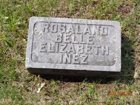 ROBERTS, BELLE - Marquette County, Michigan | BELLE ROBERTS - Michigan Gravestone Photos