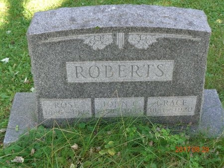 ROBERTS, ROSE - Marquette County, Michigan   ROSE ROBERTS - Michigan Gravestone Photos