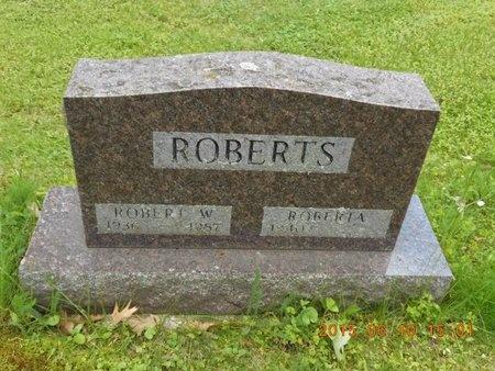 ROBERTS, ROBERT W. - Marquette County, Michigan | ROBERT W. ROBERTS - Michigan Gravestone Photos