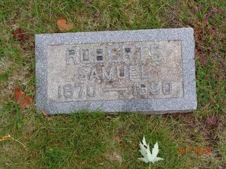 ROBERTS, SAMUEL - Marquette County, Michigan | SAMUEL ROBERTS - Michigan Gravestone Photos