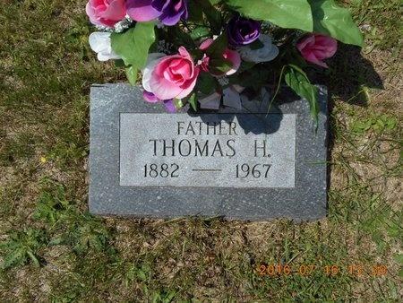 ROBERTS, THOMAS H. - Marquette County, Michigan | THOMAS H. ROBERTS - Michigan Gravestone Photos