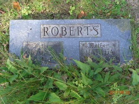 ROBERTS, MATILDA - Marquette County, Michigan | MATILDA ROBERTS - Michigan Gravestone Photos