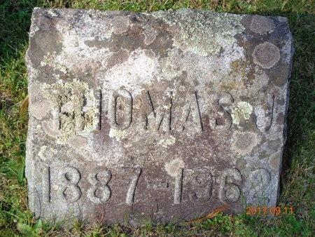 ROBERTS, THOMAS J. - Marquette County, Michigan | THOMAS J. ROBERTS - Michigan Gravestone Photos