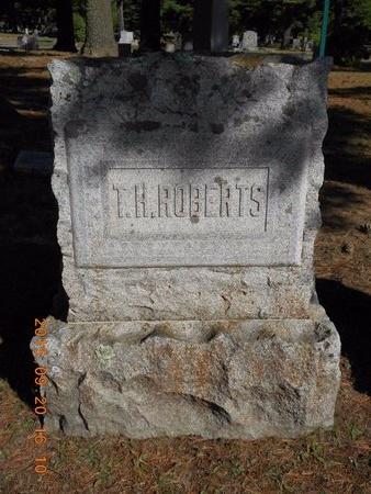 ROBERTS, T.H. - Marquette County, Michigan | T.H. ROBERTS - Michigan Gravestone Photos