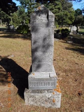 ROBERTS, WILLIAM - Marquette County, Michigan | WILLIAM ROBERTS - Michigan Gravestone Photos