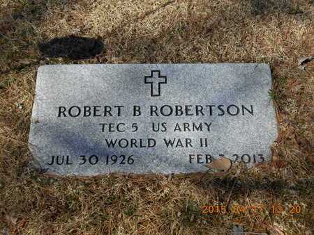 ROBERTSON, ROBERT B. - Marquette County, Michigan | ROBERT B. ROBERTSON - Michigan Gravestone Photos