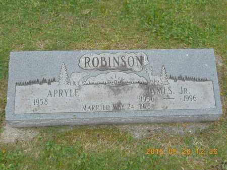 ROBINSON, APRYLE - Marquette County, Michigan | APRYLE ROBINSON - Michigan Gravestone Photos