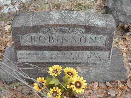 ROBINSON, DEMMON F. - Marquette County, Michigan | DEMMON F. ROBINSON - Michigan Gravestone Photos