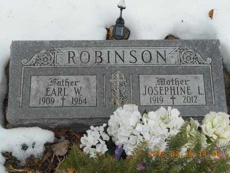 ROBINSON, EARL W. - Marquette County, Michigan | EARL W. ROBINSON - Michigan Gravestone Photos