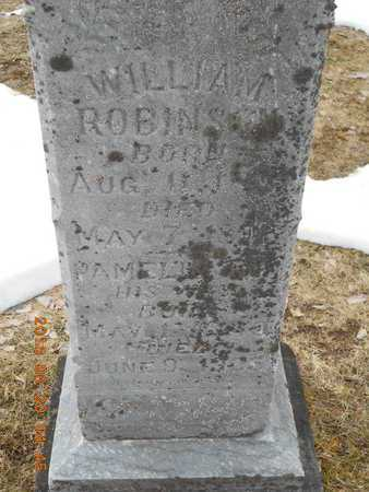 ROBINSON, WILLIAM - Marquette County, Michigan | WILLIAM ROBINSON - Michigan Gravestone Photos