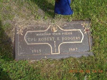 RODGERS, CPL. ROBERT E. - Marquette County, Michigan | CPL. ROBERT E. RODGERS - Michigan Gravestone Photos