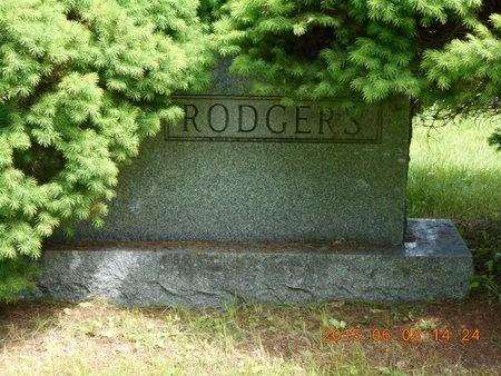 RODGERS, FAMILY - Marquette County, Michigan   FAMILY RODGERS - Michigan Gravestone Photos