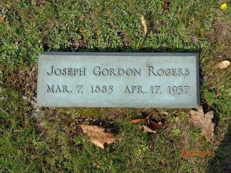 ROGERS, JOSEPH GORDON - Marquette County, Michigan | JOSEPH GORDON ROGERS - Michigan Gravestone Photos