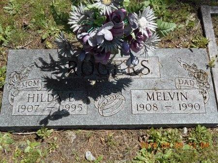 ROGERS, HILDA E. - Marquette County, Michigan | HILDA E. ROGERS - Michigan Gravestone Photos