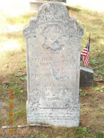 ROGERS, SELINA - Marquette County, Michigan   SELINA ROGERS - Michigan Gravestone Photos