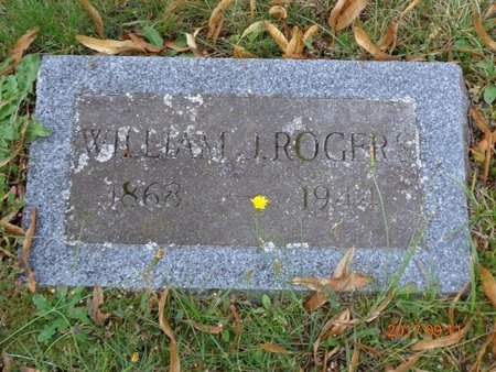 ROGERS, WILLIAM J. - Marquette County, Michigan | WILLIAM J. ROGERS - Michigan Gravestone Photos