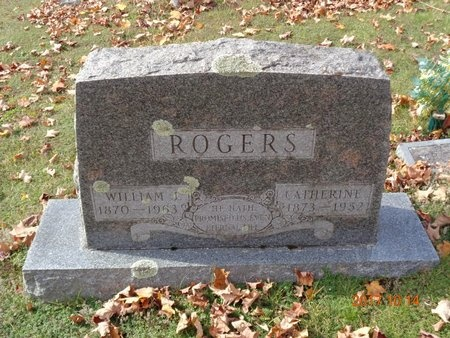 ROGERS, WILLIAM J. - Marquette County, Michigan | WILLIAM J. ROGERS - Michigan Gravestone Photos