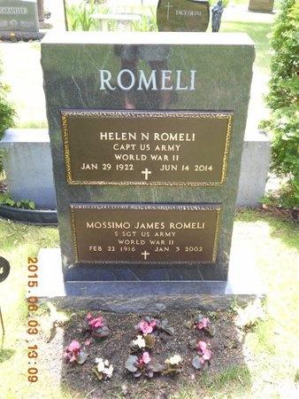 ROMELI, HELEN N. - Marquette County, Michigan | HELEN N. ROMELI - Michigan Gravestone Photos