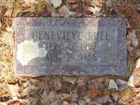 RUEL, GENEVIEVE - Marquette County, Michigan   GENEVIEVE RUEL - Michigan Gravestone Photos