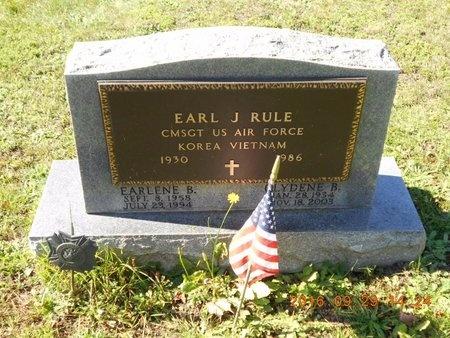 RULE, CLYDENE B. - Marquette County, Michigan | CLYDENE B. RULE - Michigan Gravestone Photos