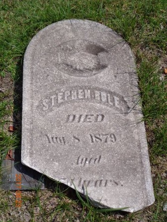 RULE, STEPHEN - Marquette County, Michigan | STEPHEN RULE - Michigan Gravestone Photos