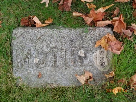 RUNDELL, ELIZABETH - Marquette County, Michigan   ELIZABETH RUNDELL - Michigan Gravestone Photos