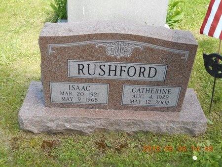 RUSHFORD, CATHERINE - Marquette County, Michigan | CATHERINE RUSHFORD - Michigan Gravestone Photos