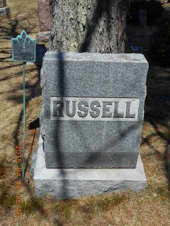 RUSSELL, FAMILY - Marquette County, Michigan   FAMILY RUSSELL - Michigan Gravestone Photos