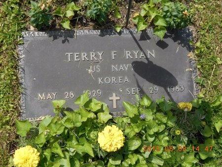 RYAN, TERRY F. - Marquette County, Michigan | TERRY F. RYAN - Michigan Gravestone Photos