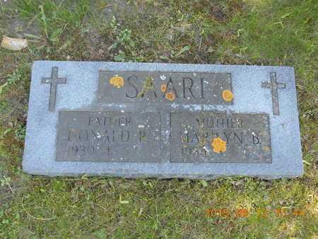SAARI, DONALD P. - Marquette County, Michigan | DONALD P. SAARI - Michigan Gravestone Photos