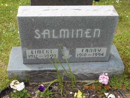 SALMINEN, FANNY - Marquette County, Michigan | FANNY SALMINEN - Michigan Gravestone Photos