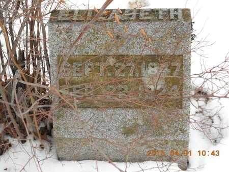 SAMBROOK, ELIZABETH - Marquette County, Michigan   ELIZABETH SAMBROOK - Michigan Gravestone Photos