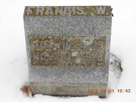 SAMBROOK, FRANCIS W. - Marquette County, Michigan   FRANCIS W. SAMBROOK - Michigan Gravestone Photos