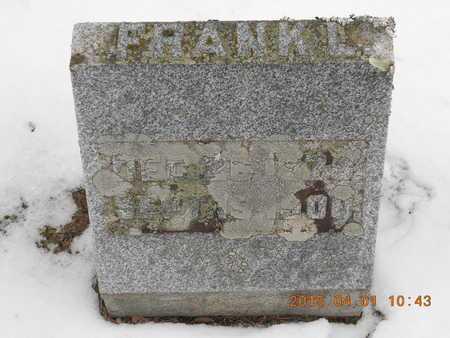 SAMBROOK, FRANK L. - Marquette County, Michigan   FRANK L. SAMBROOK - Michigan Gravestone Photos