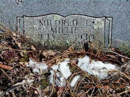 SANDBERG, MILDRED L. - Marquette County, Michigan | MILDRED L. SANDBERG - Michigan Gravestone Photos