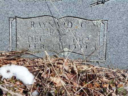 SANDBERG, RAYNARD C. - Marquette County, Michigan | RAYNARD C. SANDBERG - Michigan Gravestone Photos