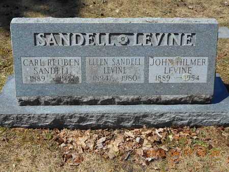 SANDELL LEVINE, ELLEN - Marquette County, Michigan | ELLEN SANDELL LEVINE - Michigan Gravestone Photos