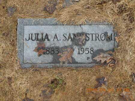 SANDSTROM, JULIA A. - Marquette County, Michigan | JULIA A. SANDSTROM - Michigan Gravestone Photos
