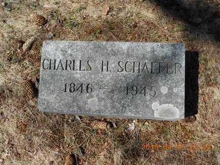 SCHAFFER, CHARLES H. - Marquette County, Michigan | CHARLES H. SCHAFFER - Michigan Gravestone Photos