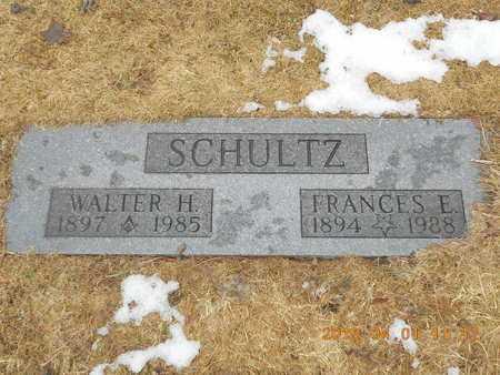 SCHULTZ, FRANCES E. - Marquette County, Michigan | FRANCES E. SCHULTZ - Michigan Gravestone Photos